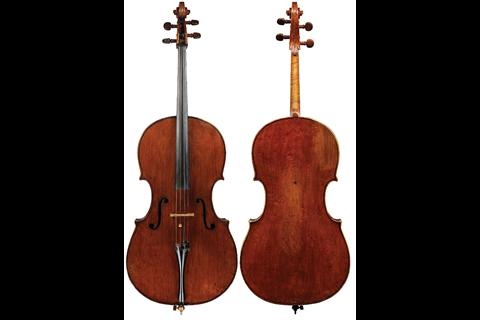 Brothers Amati cello